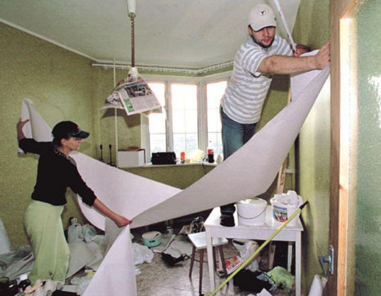Косметический ремонт комнаты своими руками видео